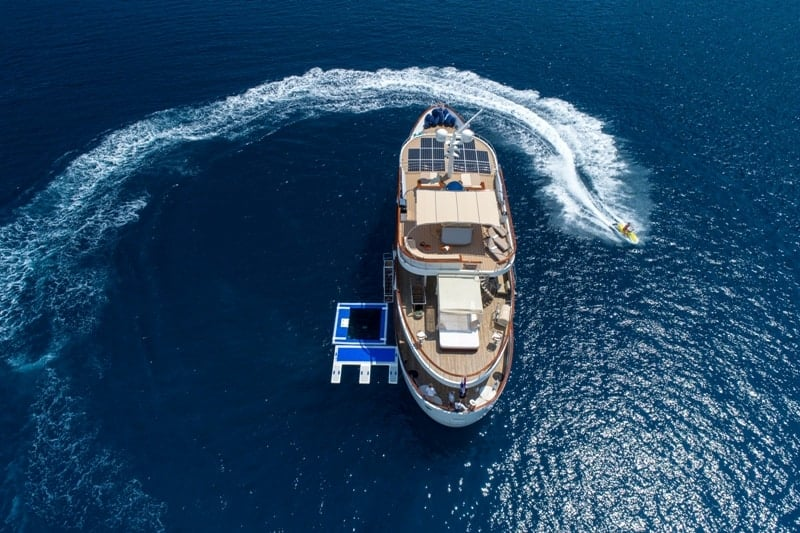 Motor Yacht Donna Del Mare water sports