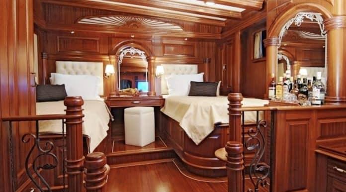 Gulet Mare Nostrum twin cabin
