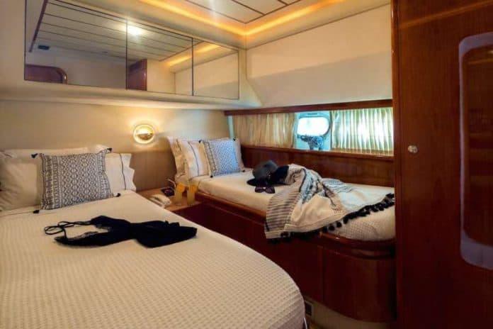 Motor Yacht Meli double cabin