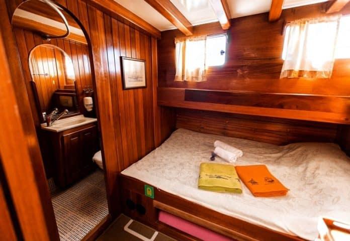 Gulet Bonaventura cabin