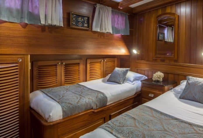 Gulet Carpe Diem twin cabin
