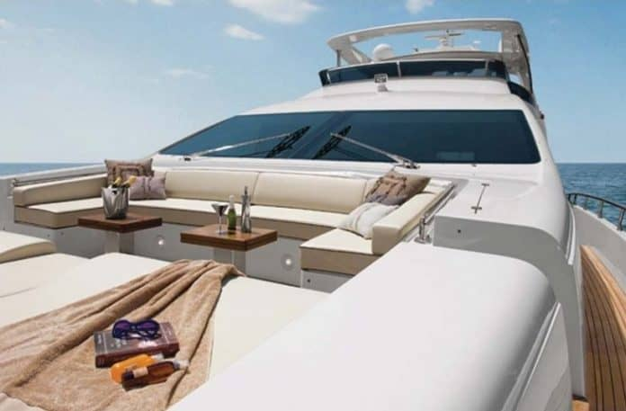 Motor Yacht Jester Bow Deck