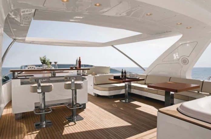 Motor Yacht Jester Sun Deck