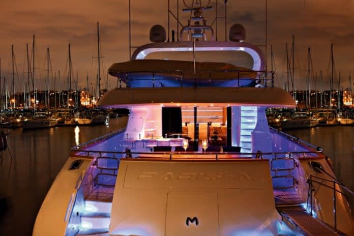 Motor Yacht Paris A Stern