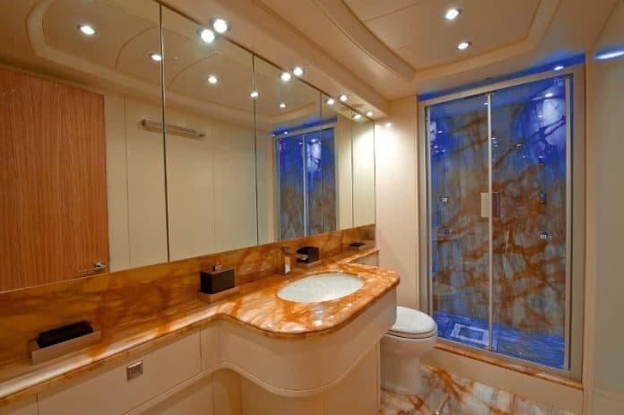 Motor Yacht Paris A Master Cabin Bathroom