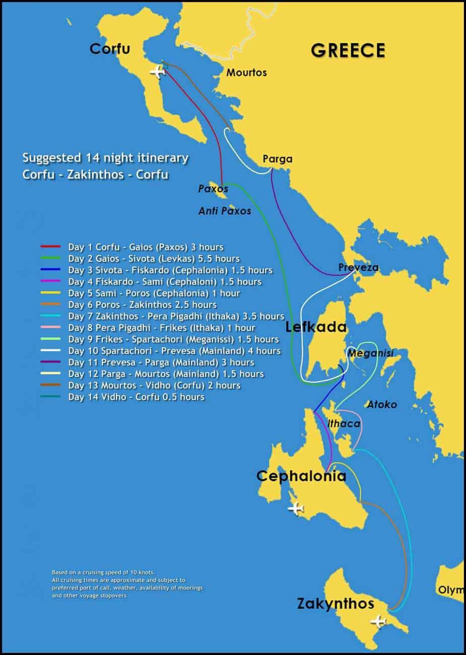 Corfu zante corfu east med yachting gumiabroncs Choice Image