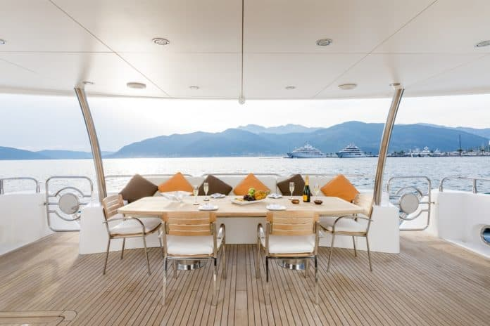 Motor Yacht Barracuda Red Sea aft deck