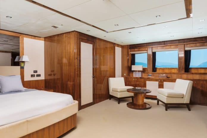 Motor Yacht Barracuda Red Sea Master Cabin