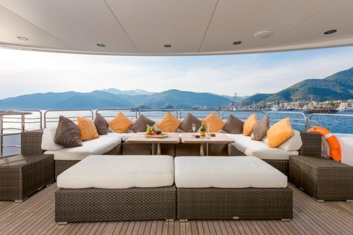 Motor Yacht Barracuda Red Sea aft deck