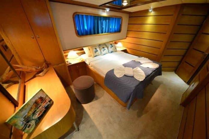Gulet Impact Z cabin
