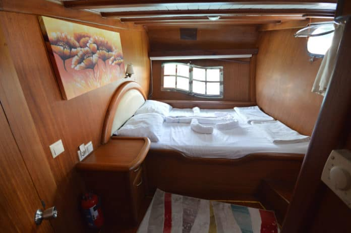 Gulet Blue Diamond cabin