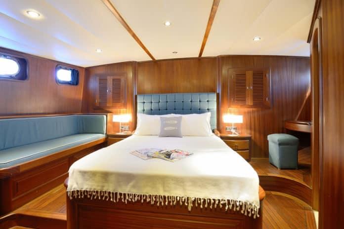 Gulet Capricorn 1 Master cabin