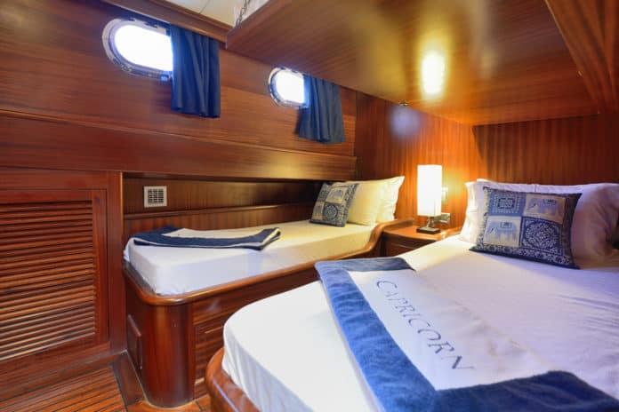 Gulet Capricorn 1 Twin Cabin & Bunk