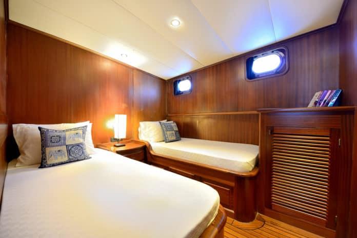 Gulet Capricorn 1 Twin cabin