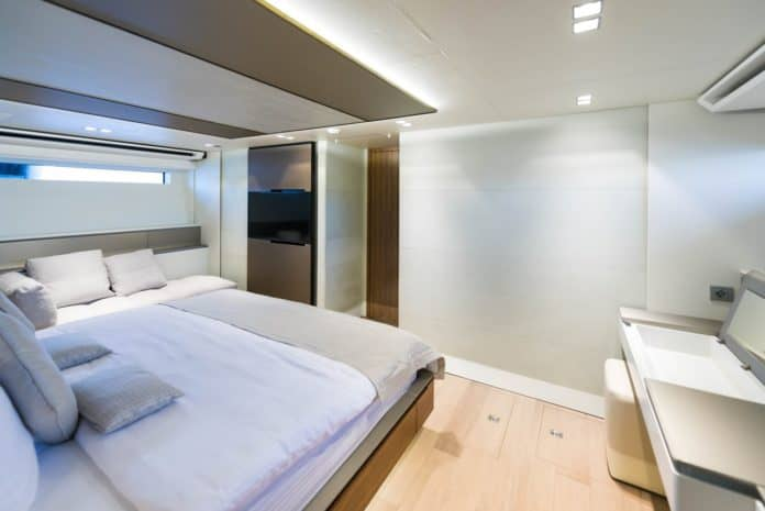 Motor Yacht Lara Master Cabin