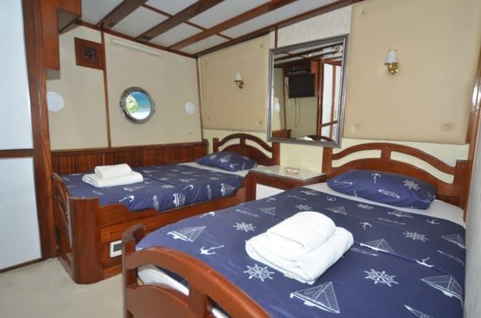 Gulet White Swan twin cabin