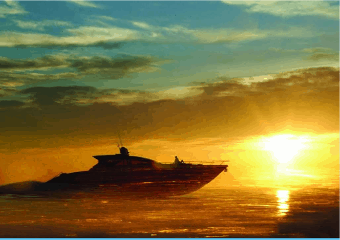 Motor Yacht W Sunset
