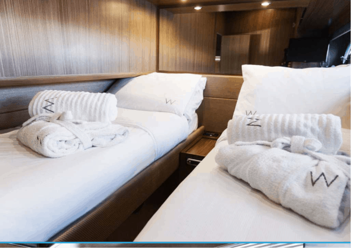 Motor Yacht W Twin Cabin