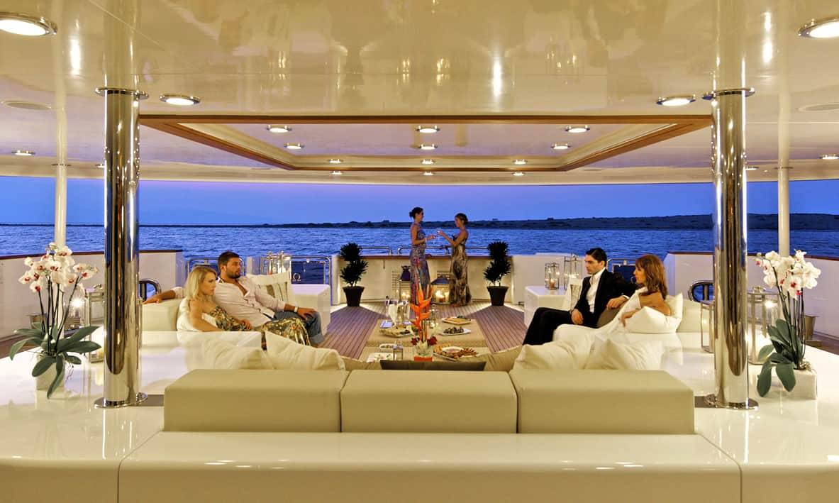 Aft Deck Drinks Party
