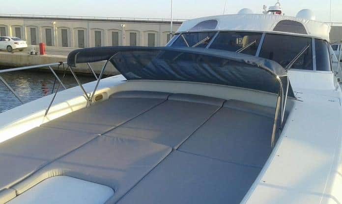 Motor Yacht Miracle Fore Deck
