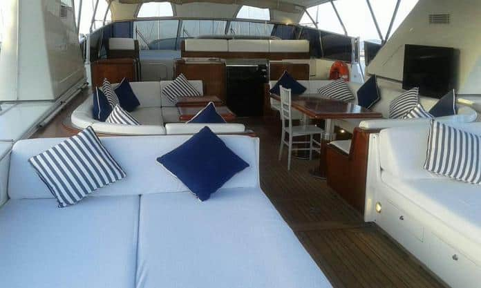 Motor Yacht Miracle Aft Deck