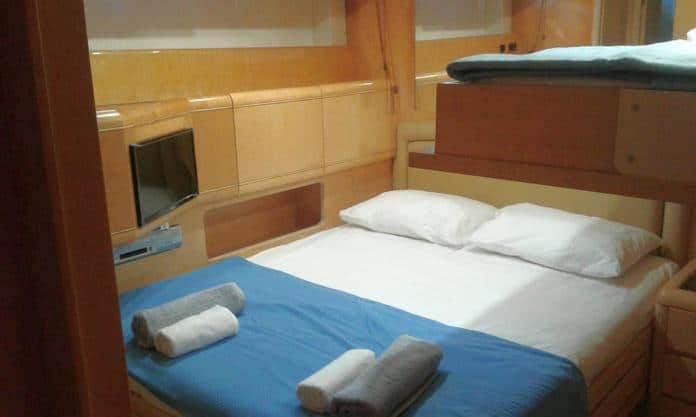 Motor Yacht Miracle Cabin