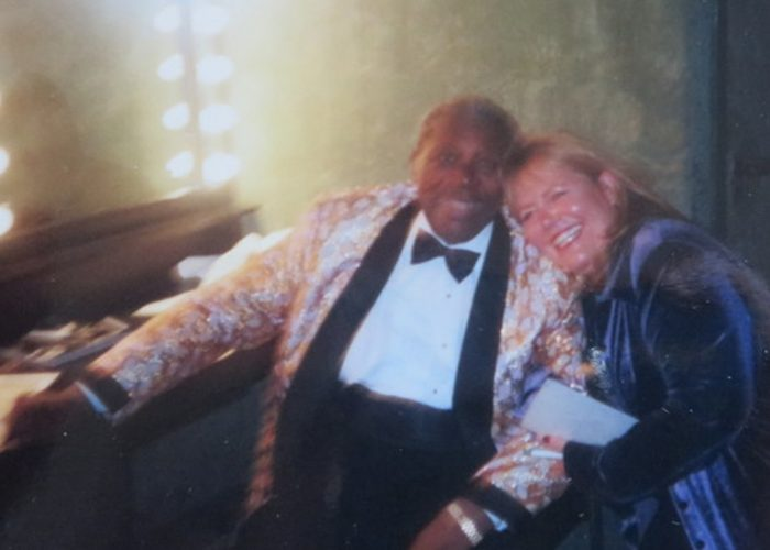 With BB King