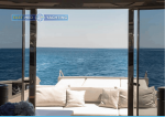 Motor Yacht W Aft View