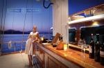Gulet Mare Nostrum fore deck bar