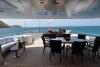 Motor Yacht Pida aft deck
