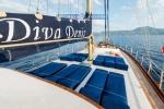 Gulet Diva Deniz sun deck