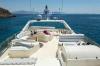 Motor Yacht Meli sun deck
