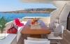 Motor Yacht Meli aft deck