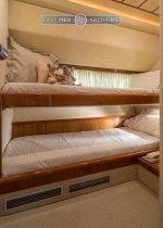 Motor Yacht Meli twin cabin